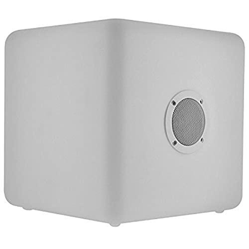 Bigben kabelloser Außenlicht-Lautsprecher - Color Cube - mit Bluetooth und Fernbedienung - Sitzfunktion - Gr. L