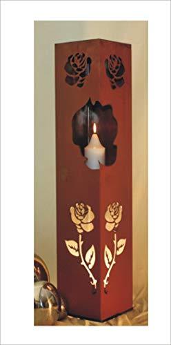 Jabo Design Rost Säule RS114 Rostsäulen Säulen Garten Deko Blumensäule