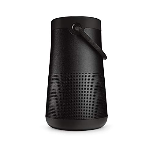 Bose SoundLink Revolve+ (Serie II) Bluetooth speaker – Tragbarer, wasserabweisender kabelloser Lautsprecher mit langer Akkulaufzeit, Schwarz