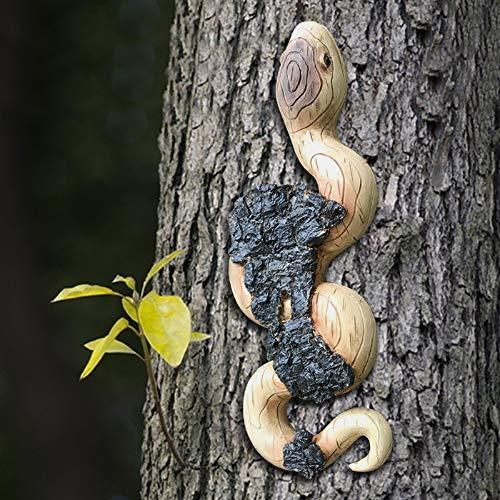 Baumgesicht Alter Mann, Dasongff Old Man Tree Hugger Baumgesicht Naturgeist Ostern Deko Wunderliche Garten-Dekoration Lustige Garten Deko Wetterfest Baumdeko zum Hängen