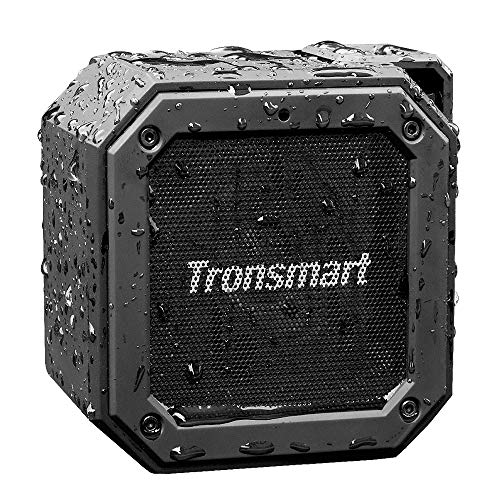 Bluetooth Lautsprecher Wasserdicht, Tronsmart Groove(Force Mini) Kabellose Tragbarer 10W Outdoor Mini Lautsprecher, IPX7 wasserdicht, Eingebauten Mikrofo, 24-Stunden Spielzeit, 360° TWS Stereo Sound