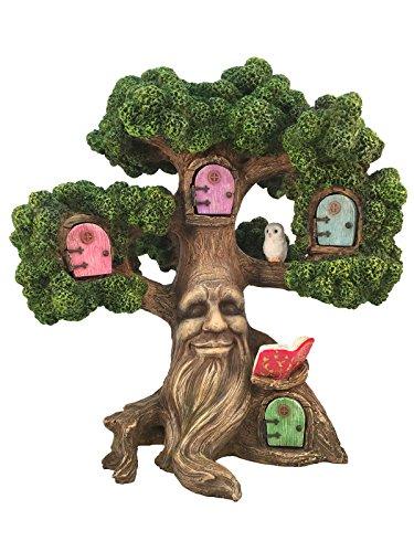 GlitZGlam Feengarten Miniaturbaum des zauberhaften Joshua (10.5 Inches hoch) für die Gartenfeen und Gartenzwerge