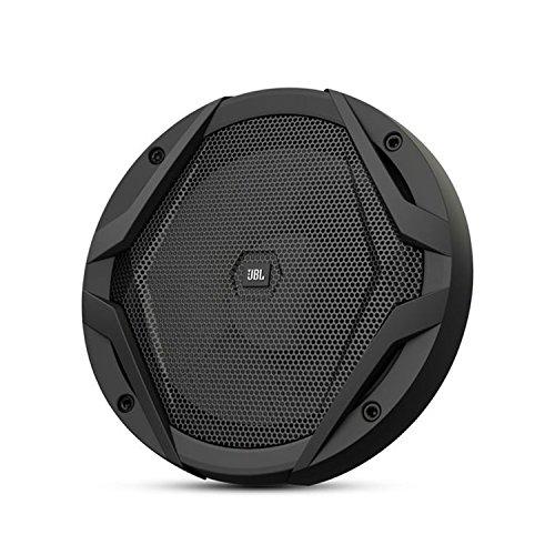 JBL GX600C 2-Wege Komponenten Lautsprechersystem mit Kabelfrequenzweiche und Lautsprecherabdeckungen (1 Paar) schwarz